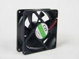 8025油双头电脑机箱风扇