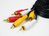 [加粗]1.5米 3RCA/3RCA 高品质全铜音频线[带包装]