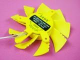 [黄色]8CM 等边显卡吊叶风扇