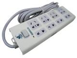 JJL-804 3米 金键联新国标0.75平插座[2500W]