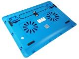 [蓝色]Y-215A 冰蝶全铁网面高性能笔记本电脑散热器\散热垫