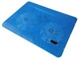 [蓝色-双14寸风扇]Y-215A 零下冰封笔记本高性能散热器\散热垫