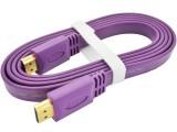 [扁线]3米 扁平HDMI高清1.4版3D数据线