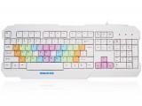 SK-3 赛顺炫彩派对多色彩虹键帽人体工学键盘[USB]
