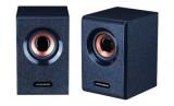 V1000 蓝悦全木质电脑小音箱