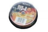 SONY  DVD光盘10片装
