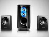 [黑色]恩科ENKOR E50 2.1电脑木质音箱组合音响