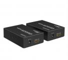 网线转HDMI延长器 网传长驱收发器信号传输放大器 单网线延长 支持通过交换机1发多收