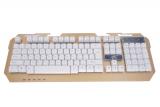 SK-11 刀锋铁骑三色背光机械手感金属面板游戏键盘[USB]