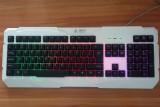 [白色]K-6 霸斧炽焰天使游戏竞技键盘