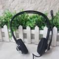 [黑色]欧凡 OV-T461MV 风火轮外形 头戴式耳机 电脑耳麦