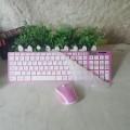 [粉色]HK-3600 如意鸟无线键鼠多媒体套装
