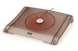【特价】RL-506水晶之恋冰锐笔记本散热垫\散热风扇[咖啡色]