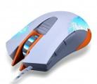 指挥官 冰狼超强电竞6D七彩变幻加重炫光游戏USB鼠标