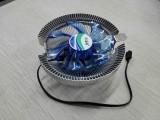 地中海炫风版发光版CPU散热风扇