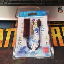 USB3.1 Type-C转千兆网线/3.0千兆网卡电脑转RJ45 1000Mbps
