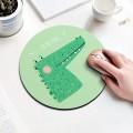 绿色鳄鱼圆形鼠标垫