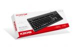 K2019 冰狼商务有线单键盘USB