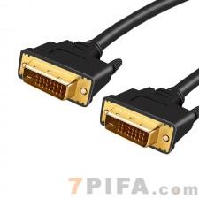 5米百迹DVI数据线24+1电脑显示器高清视频连接线公对公