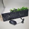 韩国现代有线键鼠套装USB