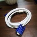 3米 白线蓝头VGA高清连接线